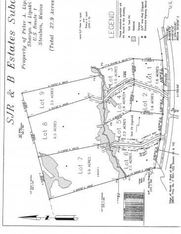 Lot 5 Cedar Creek Lane Steuben ME 04680