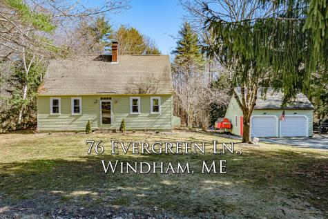 76 Evergreen Lane Windham ME 04062