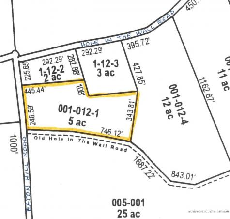 Lot 1 Hole in the Wall Road Solon ME 04979