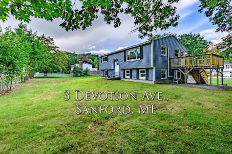 3 Devotion Avenue Sanford ME 04073