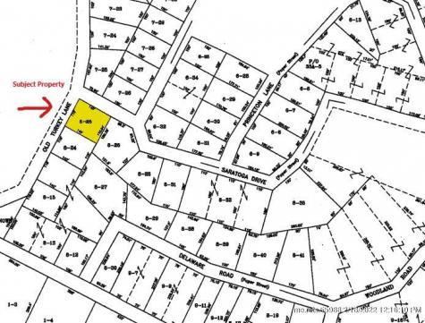 Lot 8-25 Old Turkey Lane Winthrop ME 04343