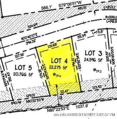 Lot 4 Rt 1A (Honey Hill Estates) Hampden ME 04444