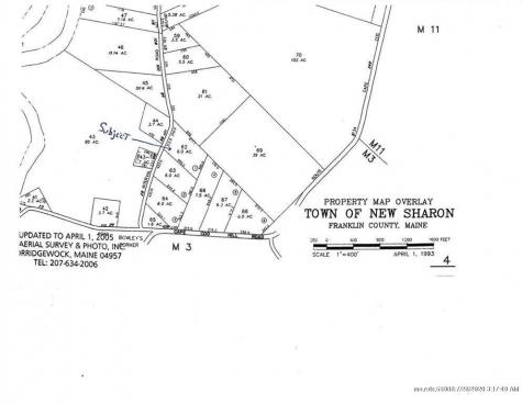 Lot 62 Intervale Road New Sharon ME 04955
