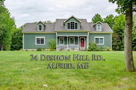 24 Deshon Hill Road Alfred ME 04002