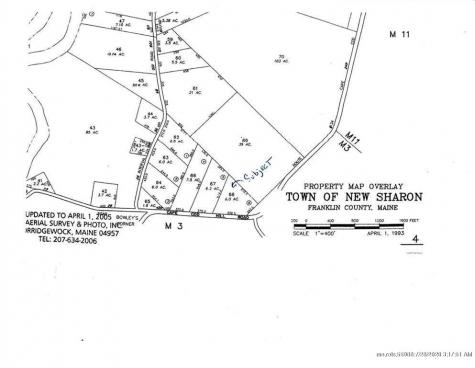 Lot 68 Cape Cod Hill Road New Sharon ME 04955