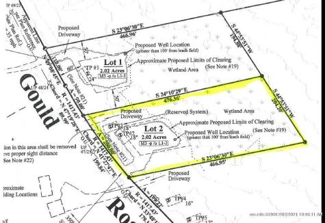 Lot 2 Gould Road Dayton ME 04005