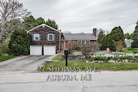 27 Sherman Avenue Auburn ME 04210