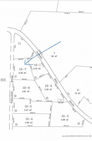 Lot 10-07 Pound Road Harrison ME 04040