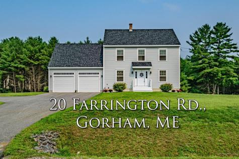 20 Farrington Road Gorham ME 04038