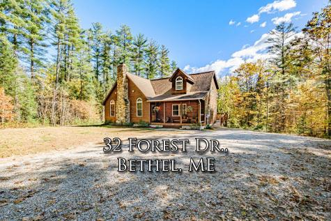 32 Forest Drive Bethel ME 04217