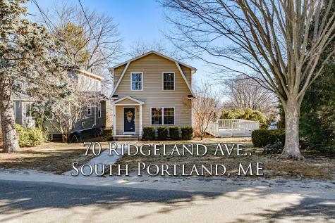 70 Ridgeland Avenue South Portland ME 04106