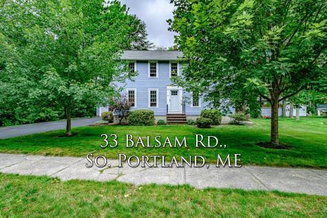 33 Balsam Road South Portland ME 04106