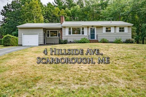 4 Hillside Avenue Scarborough ME 04074