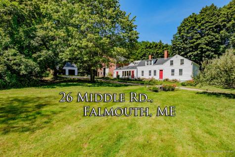 26 Middle Road Falmouth ME 04105
