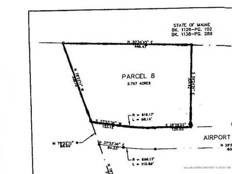 Lot #8 Airport Road Extension Waterville ME 04901