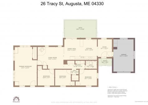 26 Tracy Street Augusta ME 04330