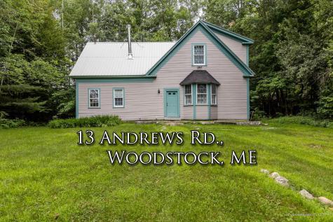 13 Andrews Road Woodstock ME 04219