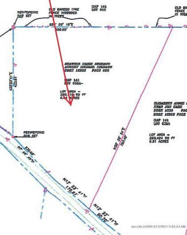 6.4 AC Beaver Dam Road Readfield ME 04355