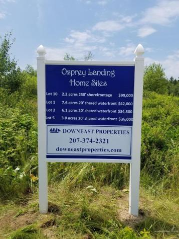 Lot 1 Osprey Landing Sedgwick ME 04676