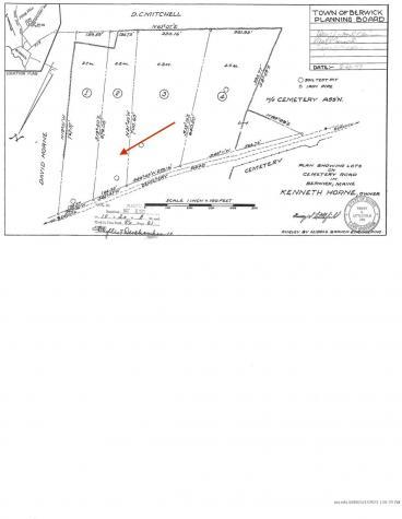TBD Cemetery Road Berwick ME 03901