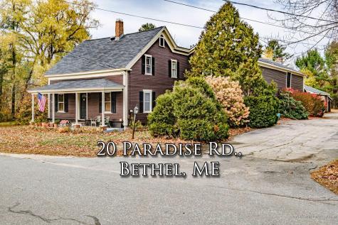 20 Paradise Road Bethel ME 04217