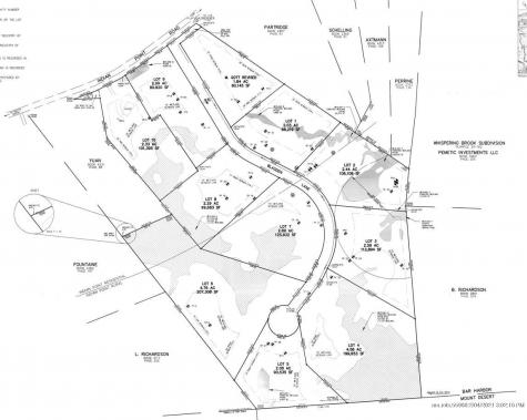 Lot 2 0 Blagden Lane Bar Harbor ME 04609