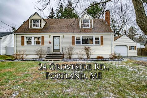 24 Groveside Road Portland ME 04102