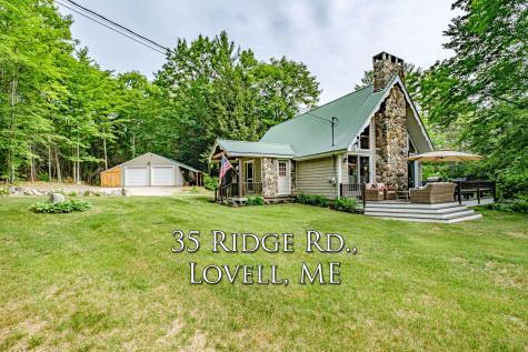 35 Ridge Road Lovell ME 04051