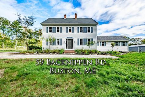 59 Back Nippen Road Buxton ME 04093