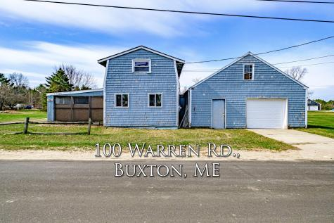 100 Warren Road Buxton ME 04093