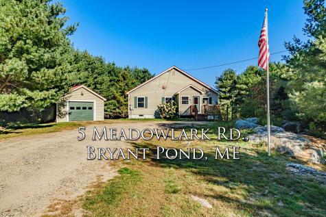 5 Meadowlark Road Woodstock ME 04219
