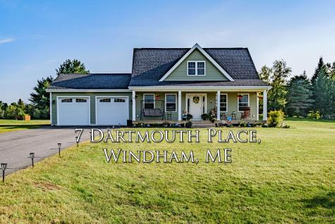 7 Dartmouth Place Windham ME 04062