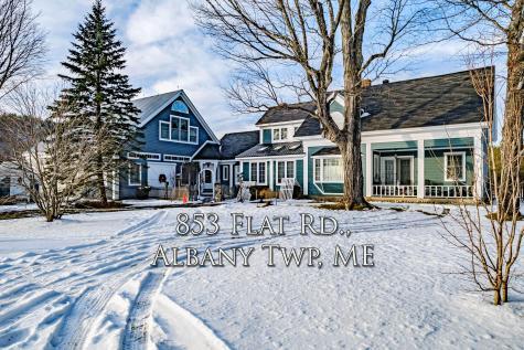 853 Flat Road Albany Twp ME 04217