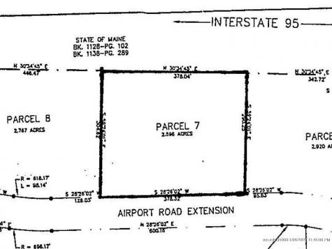 Lot #7 Airport Road Extension Waterville ME 04901