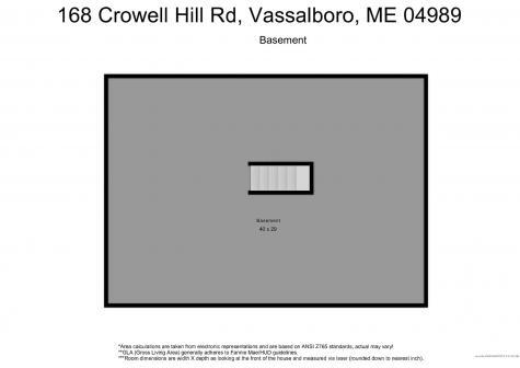 168 Crowell Hill Road Vassalboro ME 04989