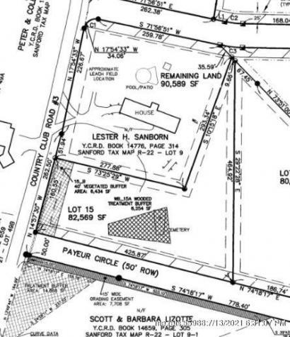 Lot 15 Payeur Circle Sanford ME 04073