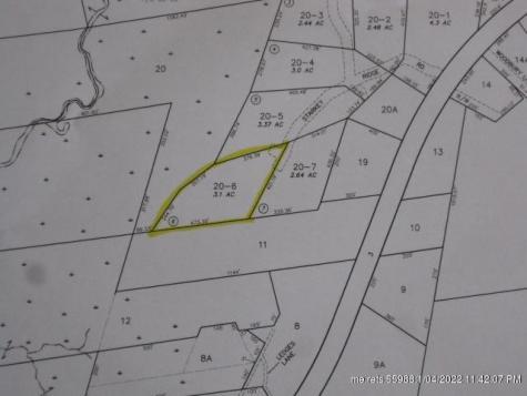 Lot 6 Starkey Ridge Road China ME 04358