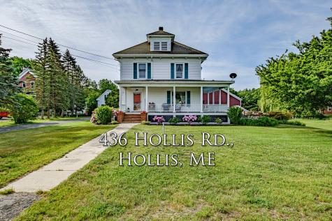 436 Hollis Road Hollis ME 04042