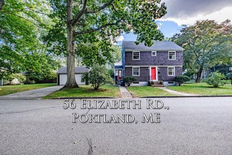 56 Elizabeth Road Portland ME 04102