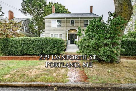 299 Danforth Street Portland ME 04102