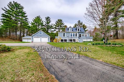 369 Williams Road Lyman ME 04002