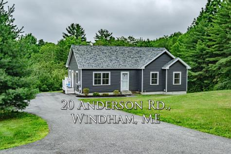 20 Anderson Road Windham ME 04062