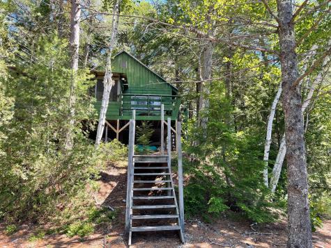 Island Camp; Beddington Lake Beddington ME 04622