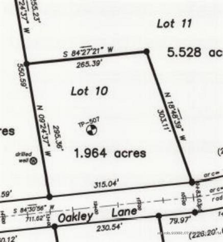M2 L45-10 Oakley Lane Embden ME 04958