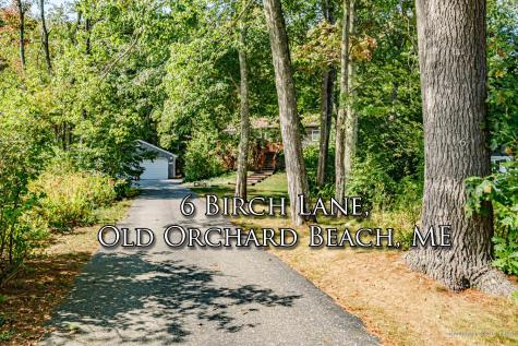 6 Birch Lane Old Orchard Beach ME 04064