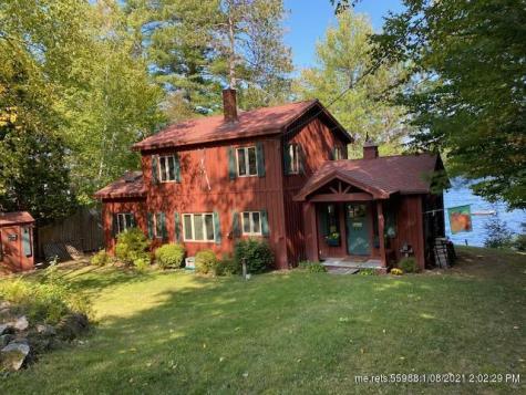 563 Peabody Pond Road Sebago ME 04029