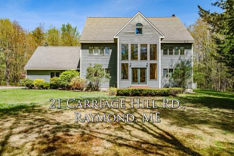 21 Carriage Hill Road Raymond ME 04071