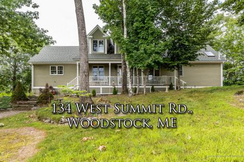 134 West Summit Road Woodstock ME 04219