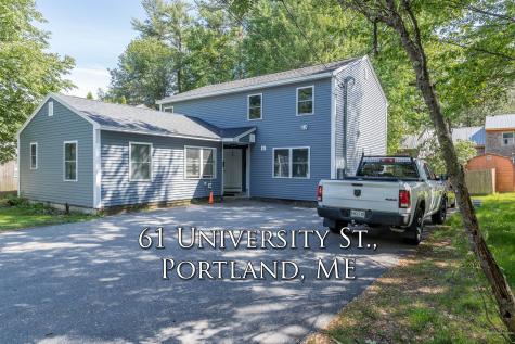 61 University Street Portland ME 04103