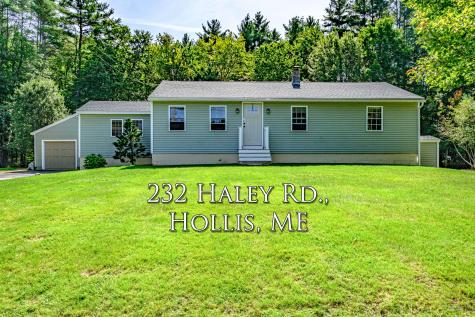 232 Haley rd Road Hollis ME 04042